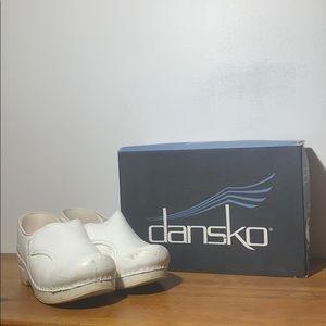 Dansko White Phoebe